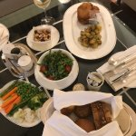 In-room dining, tasty with generous portions