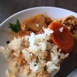 Old hard rice