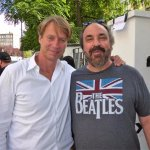A moment with Giles Martin (son of Sir George Martin, the Beatles producer).