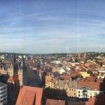 Blick auf den Dom und die Innenstadt