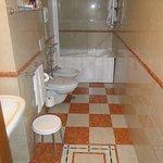 Nice size bathroom