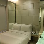 Room is very small but for those who only needs a clean bed and toilet, it is good
