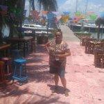 Photo de El Milagro Beach Hotel and Marina