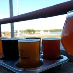 Beer Flight w/ Apricot Wheat