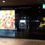 Shopping im Bahnhof