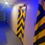 Corridor of rooms