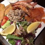 Seafood platter to share. A delicious starter.