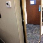 Broken closet latch - will not close.
