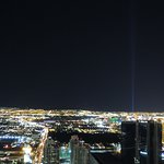 The view from Stratosphere tower