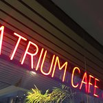 Located in the center of a soaring office building, Atrium Café and Bar offers great food and dr