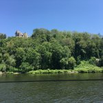 View of Gillette Castle from boat