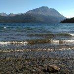 Lake Tutshi up close