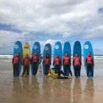 Bethan's Hen - Surf Lesson
