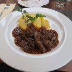 la chasse - with polenta