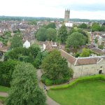 View of Warwick from tower