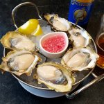 Fanny Bay oysters from British Colombia