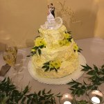 Wedding cake at La Loggetta