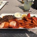 Steak & Cajun Shrimp