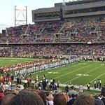 Preseason Kickoff game between Cowboys and Cardinals At Tom Benson Stadium located on HOF campus