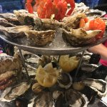 """Une partie du plat de fruits de mer """"Amiral"""""""