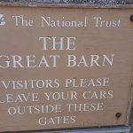 National Trust tithe barn