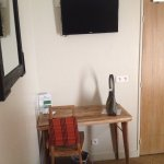 Desk, chair & table, TV - great internet & plenty of electricity outlets for your gadgets