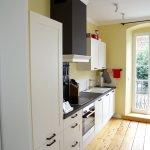 Küche in der Suite.