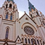 St. John the Baptist Cathedral Front exterior