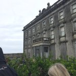Outside Loftus Hall