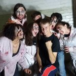 Some seriously terrifying zombies! There are more and their screams are terrifying!