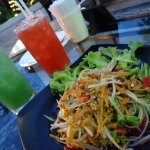 papaya salad from restaurant