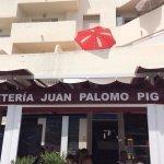 Cafeteria Juan Palomo Pig - in the village.