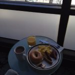 Executive Lounge Breakfast at rooftop restaurant