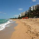 A view along the beach at Ocean Park