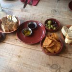Our snacks before the tapas