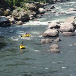 White water rafting down Rogue River