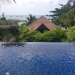 Private pool in the Beachside Seaview Pool Villa