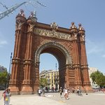 Beautiful Arc de Triomf