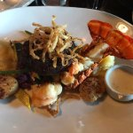 Surf and Turf special (veggies are under the filet)