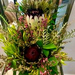 In room daily flower arrangement