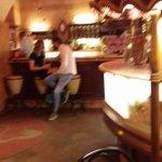 inside of establishment