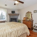 HD Moore Suite features fireplace, full private bath & lovely garden views