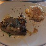 Sea Bass and Au Gratin Potatoes