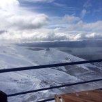 Lugar mais lindo para Ski perfeito com pista muito boas uma neve perfeita e com uma vista incrív