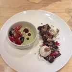 Matcha Panna Cotta and the Mochi Brownie