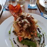 Lobster with Bacon and coconut