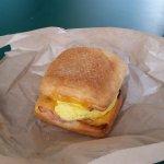 breakfast sandwich $7.29