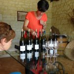Visit to Domaine de la Cotelleraie, Saint Nicolas de Bourgueil with Cathy and Nigel