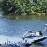 the 2 jet boats & jet ski racing