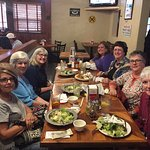 Long-time friends gathering at Farley's for lunch